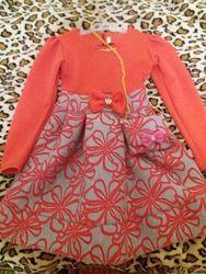 Платье демисезонное девочке