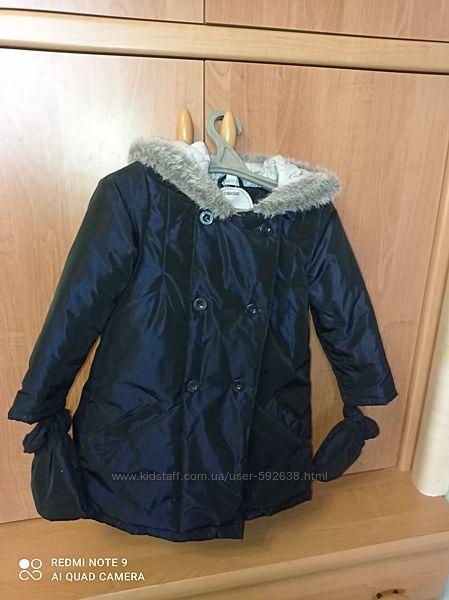 Куртка демисезонная флис/утеплитель OBAIBI Франция, р. 2-3-4 года