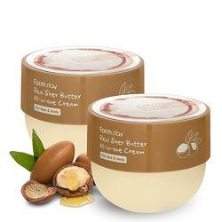 Крем для лица и тела с маслом ши FARMSTAY Real Shea Butter All-in-One Cream