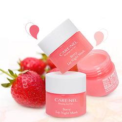 Ночная ягодная маска для губ  Carenel Lip Sleeping Mask