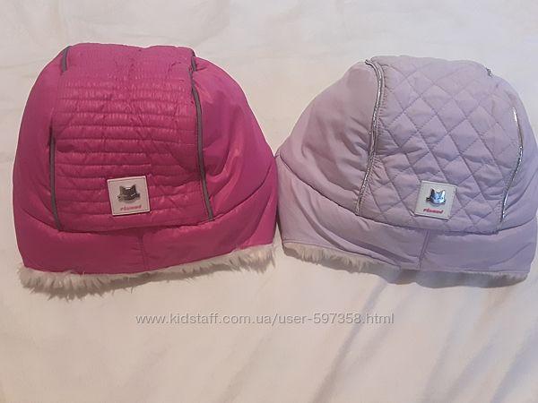 Зимняя шапка ушанка для девочки chicco flurry р.56-58 на 9-10 лет  бу