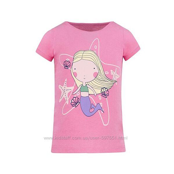 Яркие футболки Lupilu, Domyos, C&A для девочек, разм. 74-176
