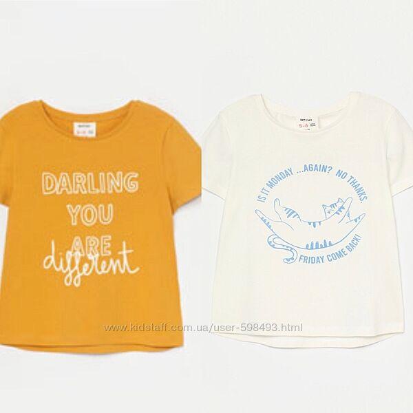 Набор футболок для девочек lefties пр-во Испания