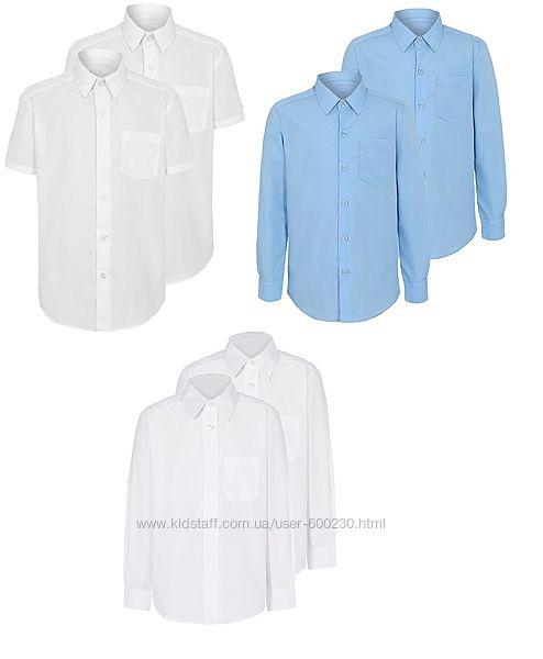 Якісні рубашки в школу George від 5 до 14 років