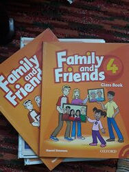 Зошит з англійської мови Family and Friends 4
