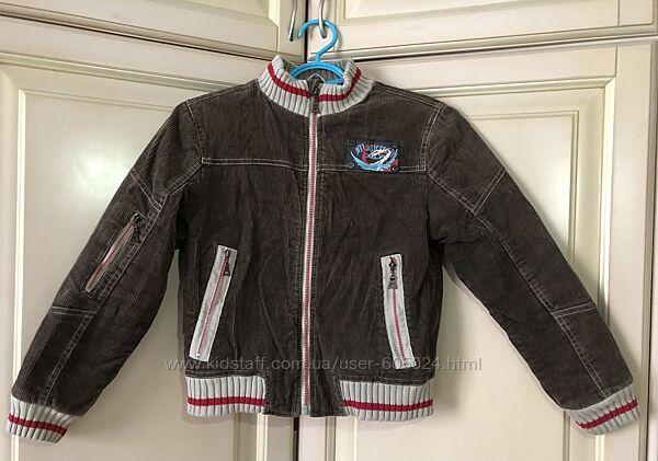 Куртка вельветовая для мальчика, 122-128 см