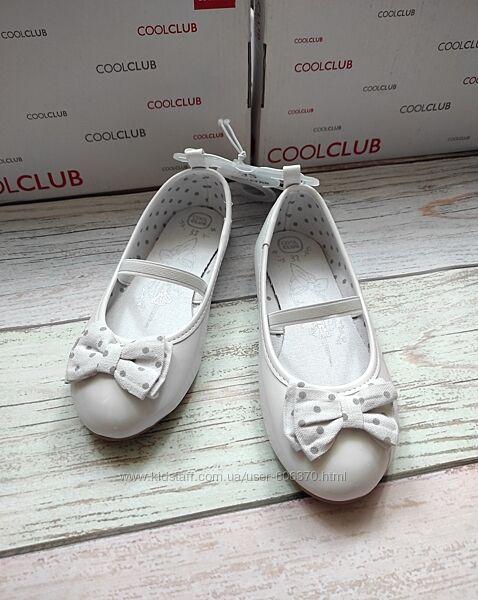Нарядные туфельки для девочки Cool Club 32р