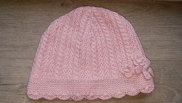 Демисезонная шапка на трикотажной подкладке Next 3-6 лет