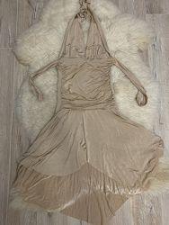 Платье для танцев, размер S-M.