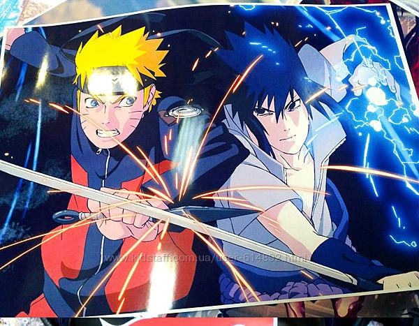 Плакат, постер аниме  Наруто Узумаки