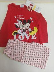Пижамы для девочек DISNEY  Франция раз.104,116