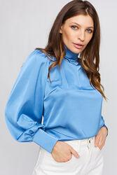 Блуза женская, нарядная, с открытой спиной