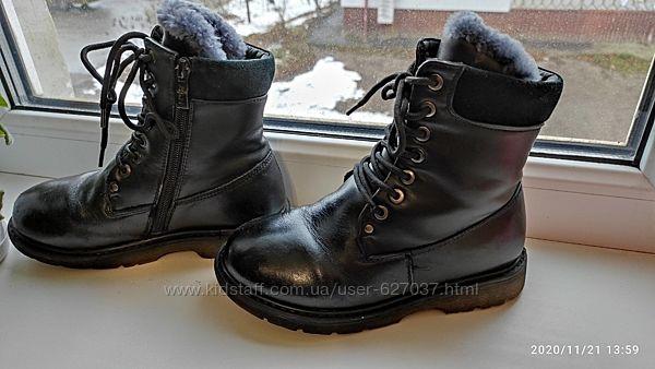 Зимние ботинки 33р, стелька 20,5 - 20,7см