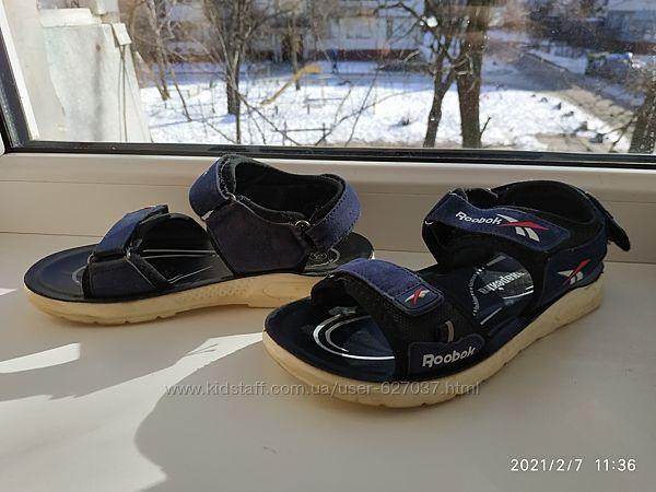 Босоножки сандали Reebok на мальчика 34р 21 см