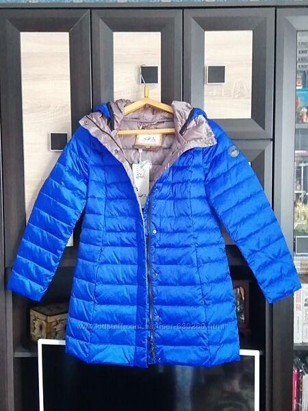 Куртка сине-серая 48р