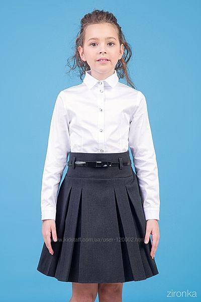 Школьная юбка Тм Zironka Зиронька рост 134