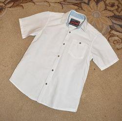 Рубашка белая Next р.10 лет 140 см