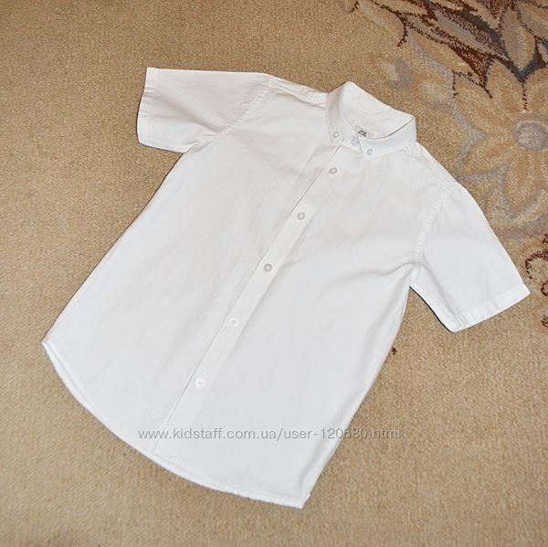 Рубашка белая River Island р.7-8 лет 128 см