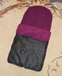Спальный мешок, конверт, чехол на ножки в коляску