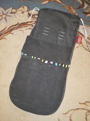 Спальный мешок, конверт, чехол на ножки в коляску Mini Izi флисовый