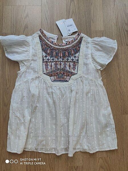 Блуза-вышиванка c&a р.158