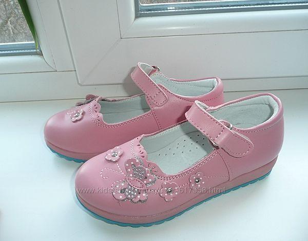 Кожаные туфельки Мальвина с 26 по 30 разм