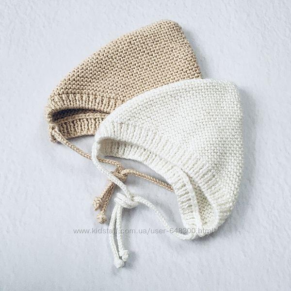 Весенние шапочки, чепчики для малышей