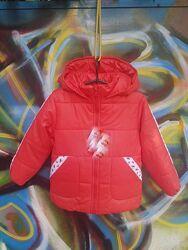 Демисезонная куртка для девочки рост 110,116,122,128