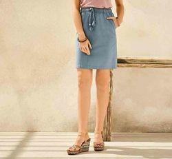 Льняная юбка, спідниця з льону, l 40 euro наш 46, Esmara, германия