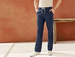 Мужские льняные штаны, брюки м 48, xl, 52 euro, Livergy, Германия, лен