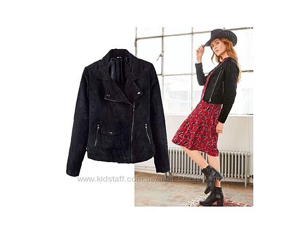 Куртка косуха под замш, L 40 euro, Esmara, Германия