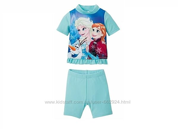 Купальный костюм с уф защитой spf 50, 74-80, Frozen, Disney, германия