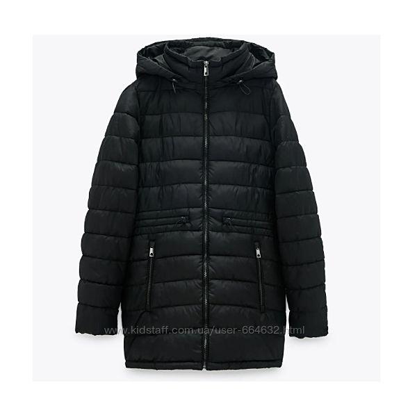 Куртка Zara стеганная SORONA водоотталкивающая складывается в карман