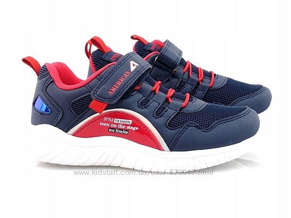 польские кроссовки american club для мальчика