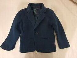 Синий пиджак трикотажный блейзер Reserved p.110 в идеальном состоянии