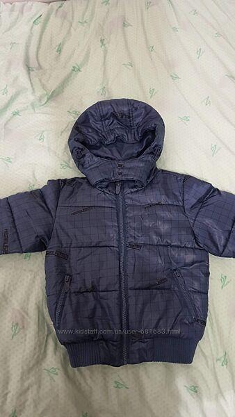 Синяя демисезонная куртка Reserved р.98 на 2-3 года в идеальном состоянии