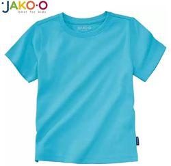 Футболка новая детская голубая на 6-7л рост 116-122 см бренд Jako-O Италия