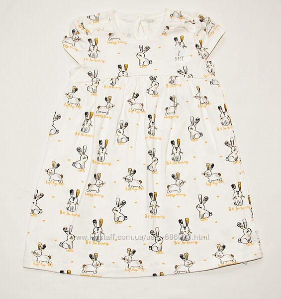 Платье летние на 1-4 года George HM Carters