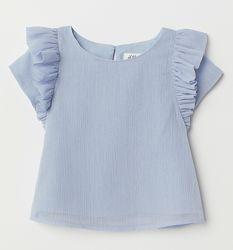 Блестящая блузка H&M Размер 122 на 6-7 лет