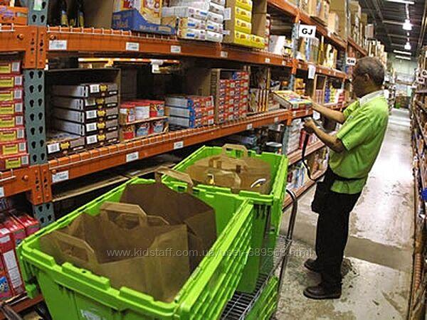 Европейская оплата для работников склада. Работа в Польше