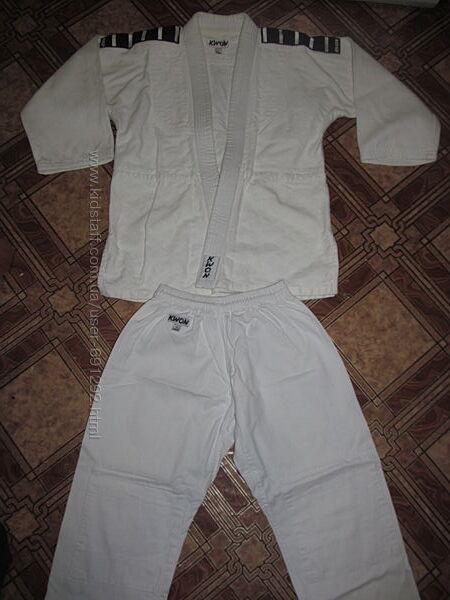 Фирменный плотный комплект кимоно Kwon оригинал рост 2&92 160