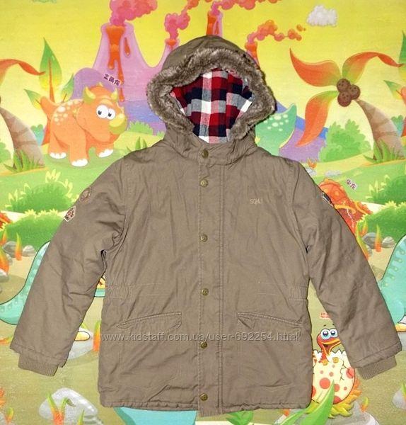 Парка куртка зимняя Sergent Major-Франция на 10 лет рост 140см