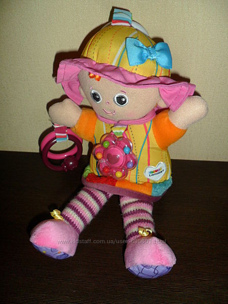 Lamaze Развивающая игрушка подвеска подружка Эмили кукла