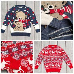 Новогодний свитер джемпер для детей