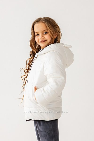 Демісезонна куртка для дівчаток Тм Сьюзі р. 98-116см