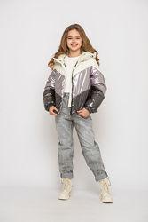 Демісезонна куртка для дівчат підлітків Міранда р. 146-152-158