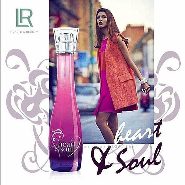 Heart&soul, сердце и душа, парфюмированная вода, lr, оригинал
