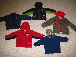 Демисезонная куртка - ветровка от 3 до 9 лет