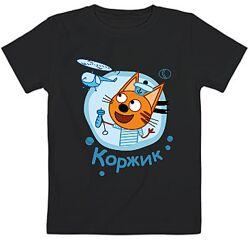 Детские футболки Три кота