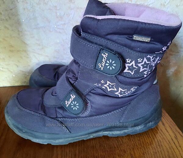 Зимние ботинки Lurchi размер 35, стелька 23 см